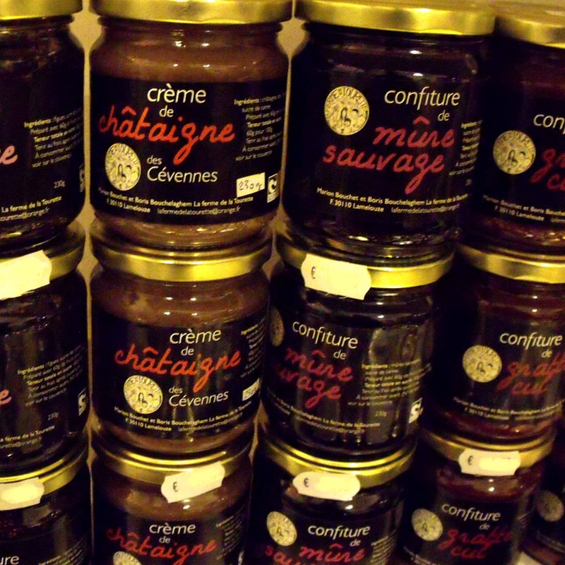 Crèmes - épicerie fine salon dégustation Anduze