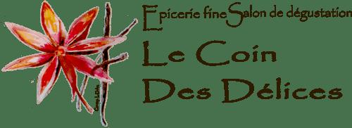 Logotype Le coin des délices - épicerie fine salon dégustation Anduze